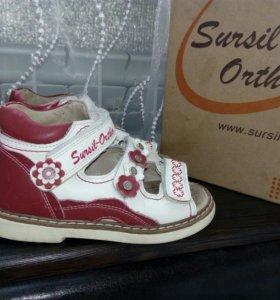 Туфли, сандали ортопедические 25р (16,5см)