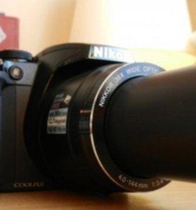 Nikon Coolpix P500 (гарантия, суперзум36х, 12,75МП