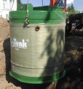 Автономная канализация станция очистки