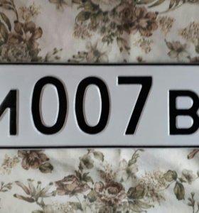 госномер 007