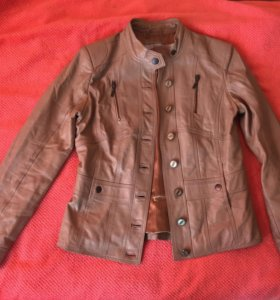 Немецкая кожаная куртка