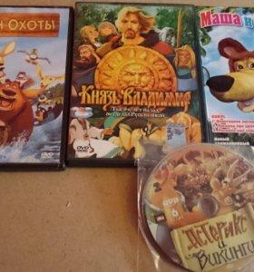 Мультфильмы DVD