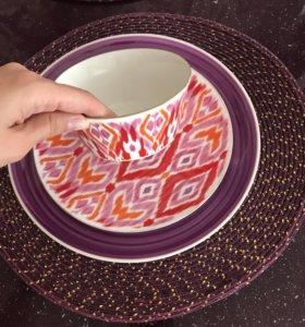 Посуда тарелки zara home