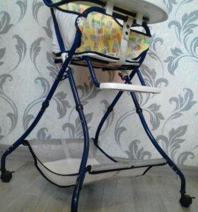 Детский обеденный стульчик