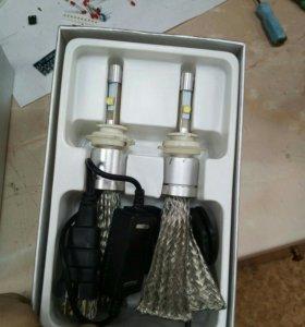LEDлампы цокольH3,H4,H7