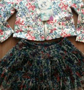 Новая юбка и пиджак acoola 104