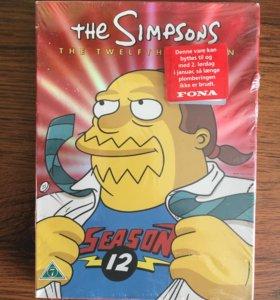 The Simpsons 12 season 4 DVD новые