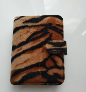 Блокнот в мягкой тигровой обложке