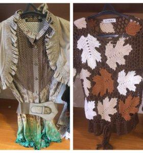 Женские туники и рубашки