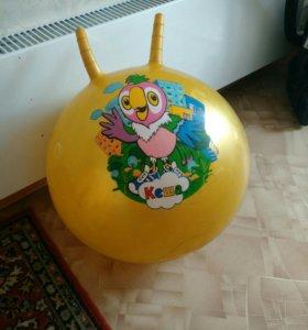 Детский шар для прыжков с ручками