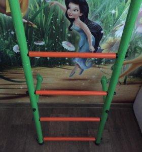 Детская гимнастическая стенка