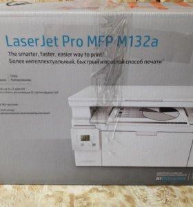 МФУ лазерное HP LaserJet Pro MFP m132 a