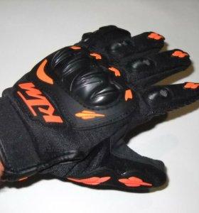 Мотоперчатки с логотипом KTM новые