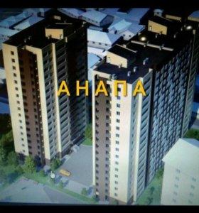 Квартира, 1 комната, 42.7 м²