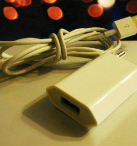 Зарядное устройство для iPhone с кабелем