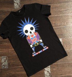 Мужская футболка( светящийся принт)