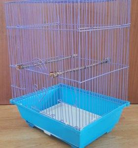 Клетка для попугайчика, амадинки.