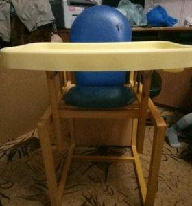 Стульчик и столик