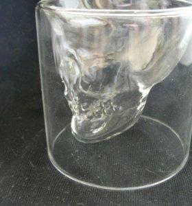 Стопки череп, набор 6 шт, новые