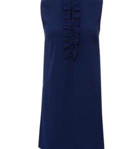 Новое платье синего цвета