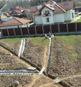 Дренаж Осушение участка Ливневки