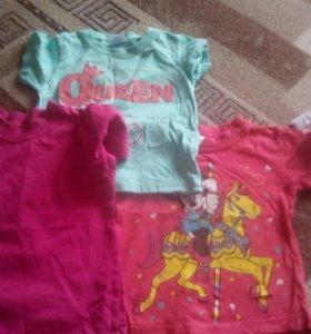 Вещи пакетом девочке, 1—2 года
