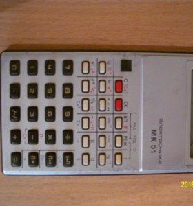 Микрокалькулятор для инженерных расчетов.