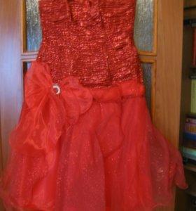 платье бальное на выпускной