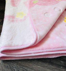 Одеялко детское для девочки