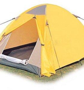 Палатка двухместная двухслойная с тамбуром