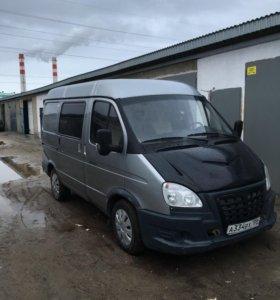 ГАЗ Соболь 2752 2.4 МТ, 2011 фургон