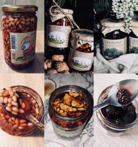 Варенье Сосновых шишек, Грецкого и Кедровых орехов