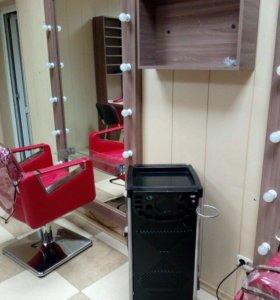 Мебель и оборудование для салона .Световая вывеска