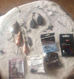 Набор принадлежностей для рыбалки
