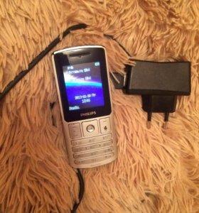 Телефон Philips 2 симки