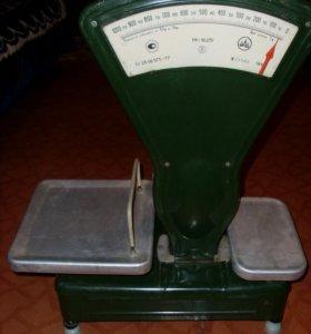 Весы старого образца