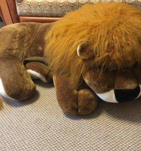 Игрушка лев, большая