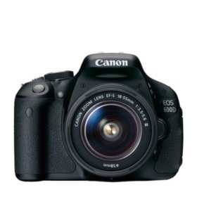 Canon EOS 600D kit 18-55mm DC lll