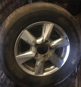 Запасное колесо Toyota LC200, Lexus LX570