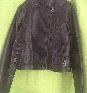 Кожзам куртка женская 44