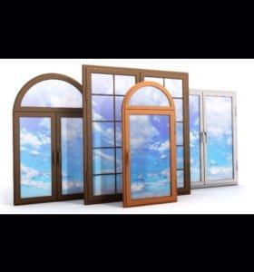 Металлпластиковые окна, двери, балконы и витражи.