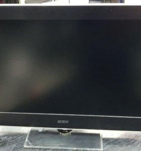 Отличный телевизор BBK c DVD плеером