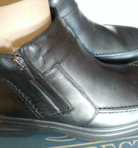 Новые ботинки из нат.кожи Росвест