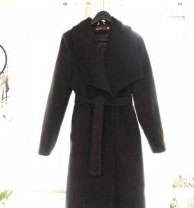 Пальто стеганое тёплое осень-зима