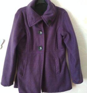 Куртка, пальто, джинсовый сарафан