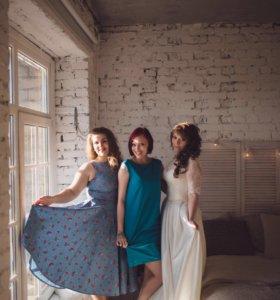 Платье 48-50 размер, длина миди