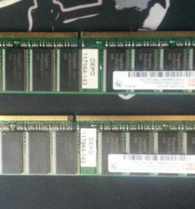 Оперативная память DDR-400MHz
