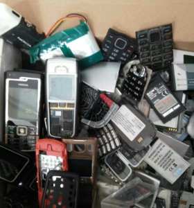 АКБ для старых образцов телефонов,панели,кнопки.