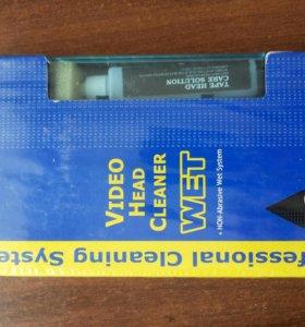 Чистящая касета и касета новая