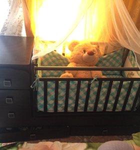 Детская кроватка СРОЧНО!!